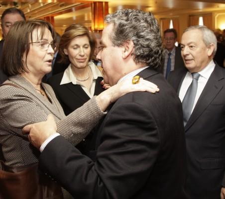 Rosa Conde, Ángel Torres, Carlos Solchaga
