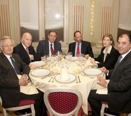 Ángel Durández, Antonio de Oyarzabal, Juan Badosa, Luis Fraga, Gloria Barba, José António Silva e Sousa