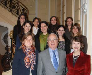 Becarios Centro de Estudios Garrigues 2010