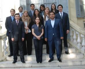 Becarios Centro de Estudios Garrigues 2012