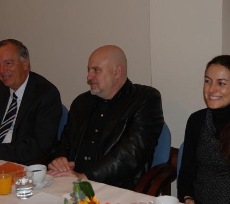 Carsten Moser, Antón Reixa, Bárbara Navarro