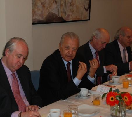 Javier Hidalgo, Francisco Romero, Emilio Gilolmo,Carlos Malamud