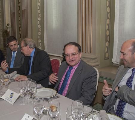 Rafael Catalá, Matthias Ruete; Carlos Álvarez; Fernando Carro