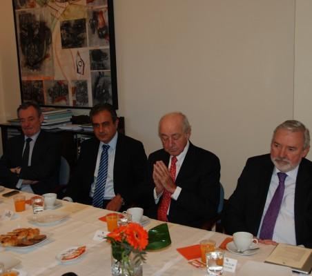 Juan Socías, Luis Fernando Álvarez Gascón, Emilio Gilolmo, Orlando Sardi de Lima