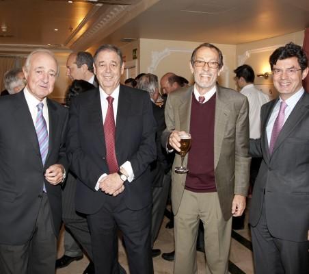 Emilio Gilolmo, Juan Badosa, Emilio Cassinello, Martín Ortega Carcelén
