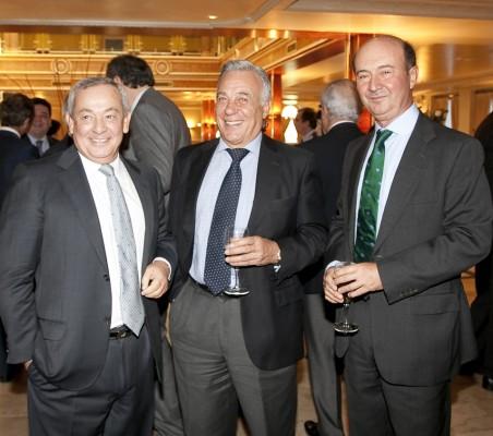 Carlos Solchaga, Antonio Gracia,Miguel Iraburu