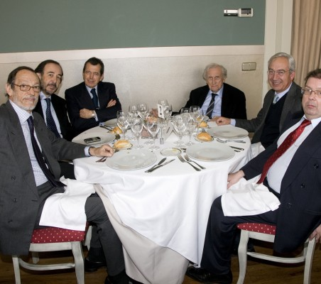 Almuerzo-coloquio con Luís Berenguer Fuster