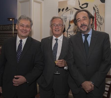 Germán Ríos, Ángel Durández, Carlos López Blanco