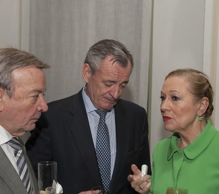 Eusebio Serrano, Juan Socías, Benita Ferrero-Waldner