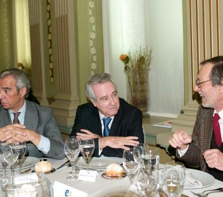 Francisco de Bergia, Fernando Casado, Emilio Cassinello