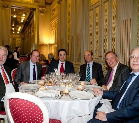 Félix Losada, Javier López Bartolomé, Miguel Iraburu, Carsten Moser, Ángel Bizcarrondo