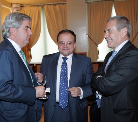Gonzalo Babé, CarlosÁlvarez y Ramón Reyes