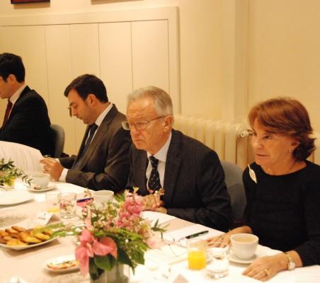José María Sanz Magallón, Erik Rovina Mardones, Ángel Durández, Luisa Peña
