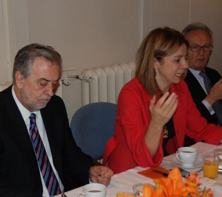 Julio Senador, Mª Coriseo Gonzalez, Izquierdo, Ángel Durández