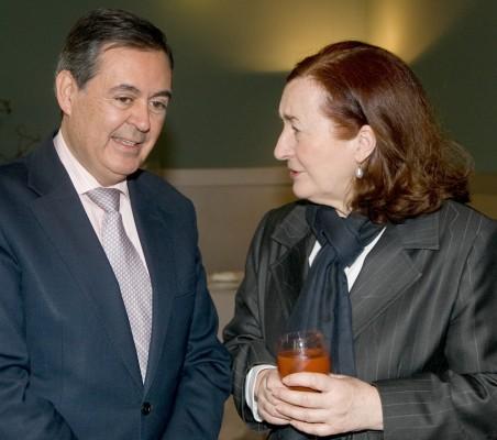 Juan Iranzo y Petra Mateos