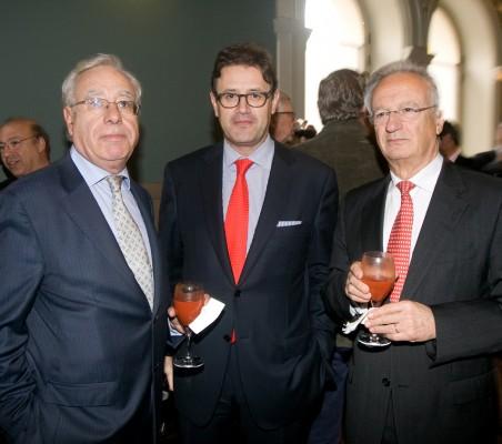 Ángel Biscarrondo, José Antonio Llorente, Ángel Durández