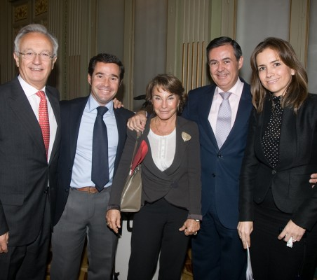 Ángel Durández, Guillermo Truan, Luisa Peña, Juan Iranzo, Patricia Alfayate
