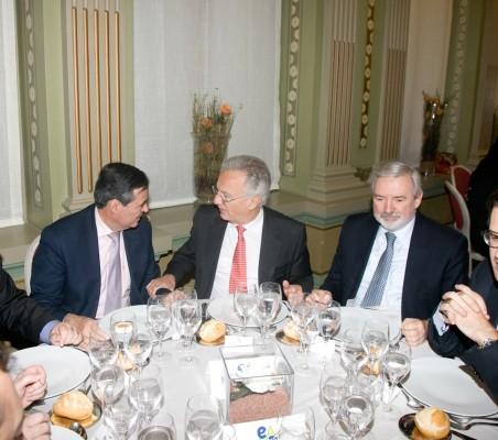 Juan Iranzo, Ángel Durández, Orlando Sardi de Lima, José Antonio Llorente