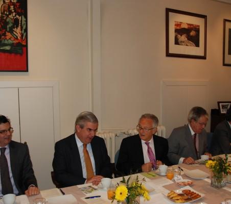 Martín Ortega Carcelén, Gonzalo Babé, Ángel Durández, Vicente Bocenta, Justo Varona