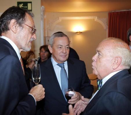 Emilio Cassinello, Carlos Solchaga, Luis Martí Mingarro