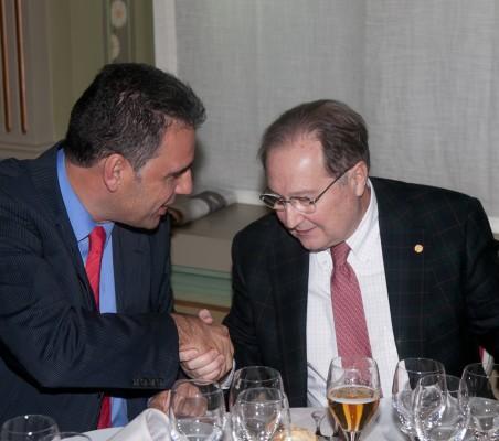 Almuerzo-coloquio con Juan Pérez Mercader