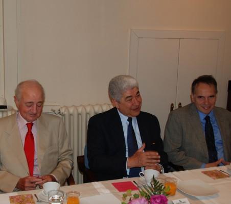 Emilio Gilolmo, Francisco Ramirez Acuña, Miguel Sancho