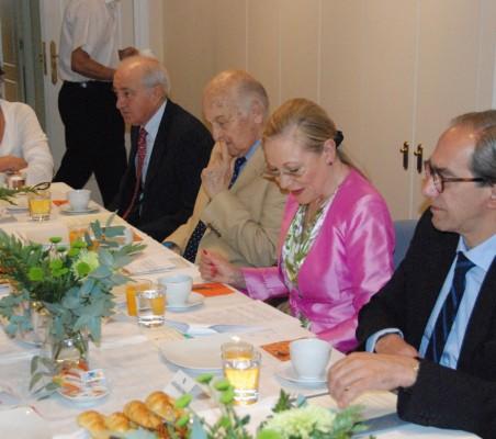 Mª Salvadora Ortiz, Emilio Gilolmo, Antonio de Oyarzábal, Benita Ferrero Waldner, José Manuel González Páramo