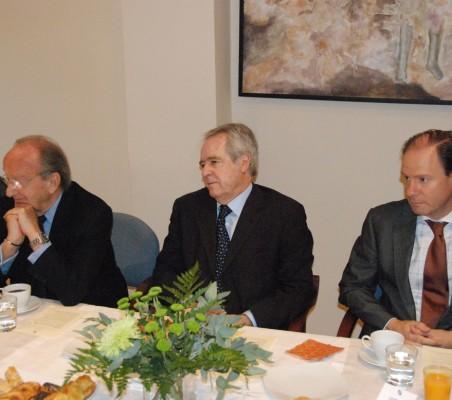 Emilio Cassinello, Carlos Westendorp, Fernando Casado, Luis Prados