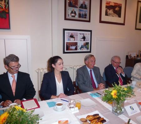 José Ignacio Salafranca, Esperanza Ibáñez, Carsten Moser, Almerino Furlán, Milagros Avedillo,