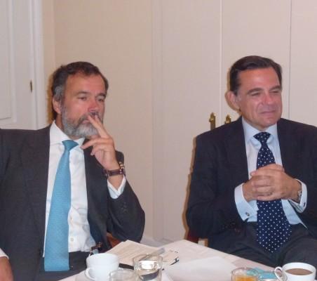 Juan José Alba, Luis Comas,