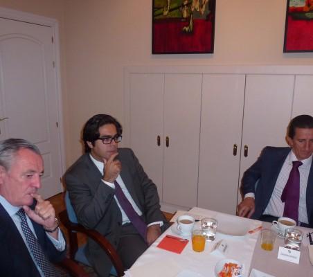 Juan Socias; Santiago Hurtado, Eduardo Ortega
