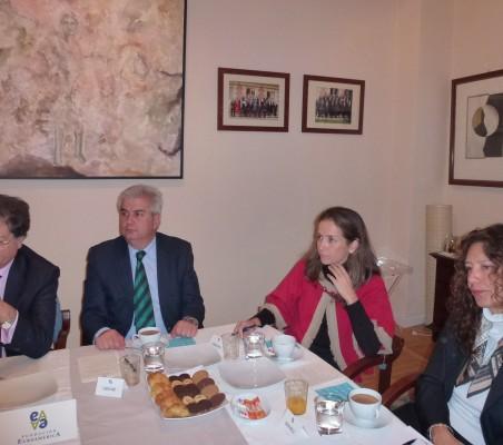 Francisco Fuenzalida, Gonzalo Babé, Patricia Alfayate, Isaura Portillo,