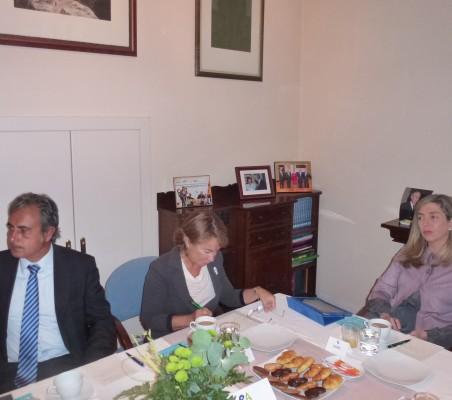 Luis Fernando Álvarez-Gascón, Luisa Peña, Eva Piera,