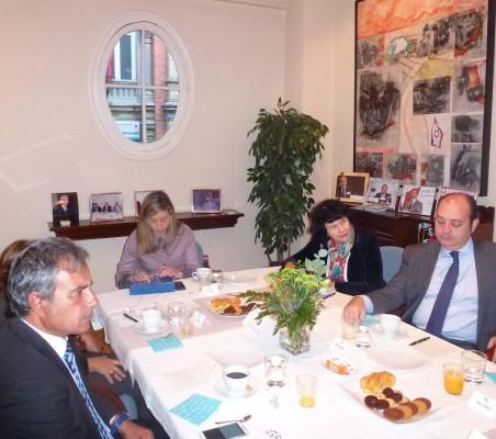 Alfredo Soriano, Regina Revilla, Eva Piera, Luis Fernando Álvarez-Gascón,