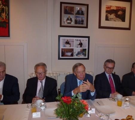 Pedro Larumbre, Ángel Durández, Carsten Moser, Eduardo Henriques, Jorge Salaverry