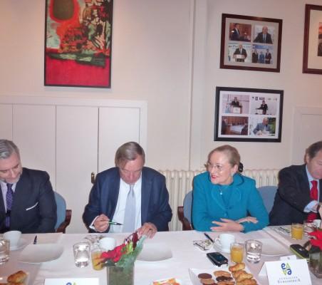 Rafael García del Poyo, Carsten Moser, Benita Ferreo-Waldner, Borja Baselga,