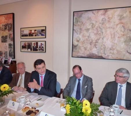 Carlos Bastarreche, Angel Durández, Francisco J. Garzón, Félix Losada, Bernardo Muñoz