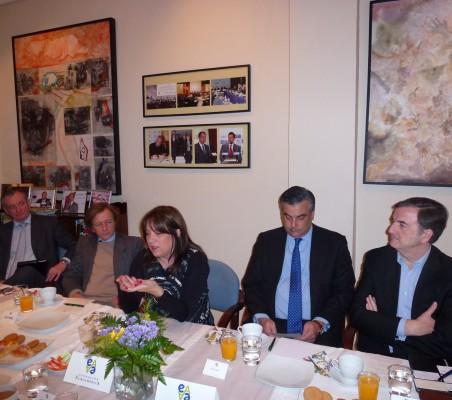Juan Socías, Adolfo Tamames, Paula Forttes, Jesús Silva, Jorge Cachinero