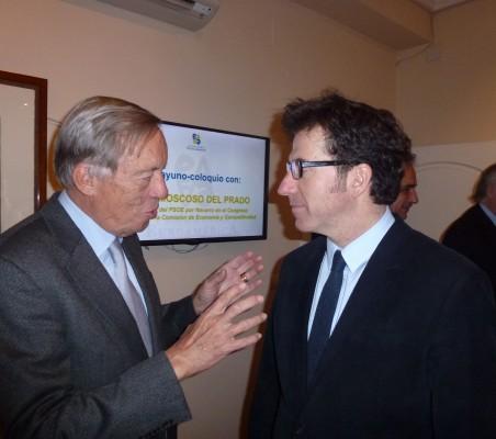Carsten Moser y Juan Moscoso del Prado