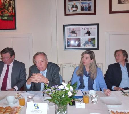 Carlos Bastarreche, Carsten Moser, Eva Piera, Adolfo Tamames