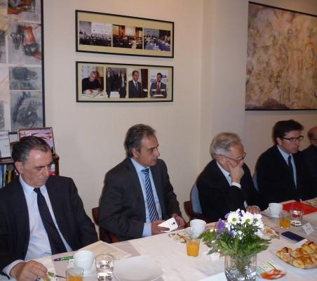 Justo Varona, Luis Fernando Álvarez-Gascón, Ángel Durández, Juan Moscoso del Prado, Francisco Galindo