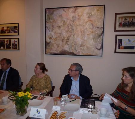 Miguel Ángel Benzal, Itziar Taboada y Patricia Alfayate