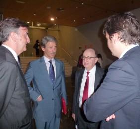 Jorge Cachinero, José Ignacio Salafranca y Guillermo Fernández de Soto