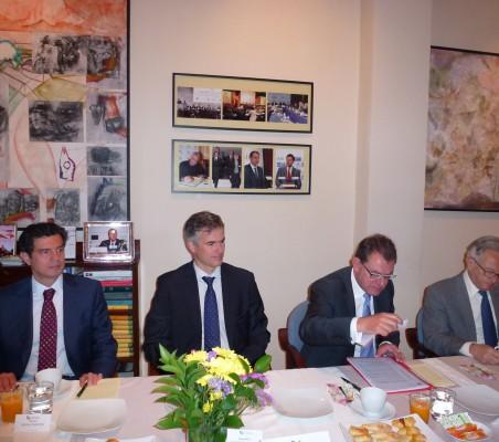 Martín Ortega Carcelén, Alejandro Álvarez Von Gustedt, Peter Tempel y Ángel Durández