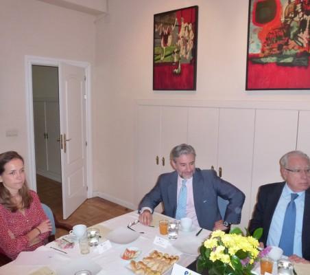 Patricia Alfayate, Rafael García del Poyo y Ángel Bizcarrondo
