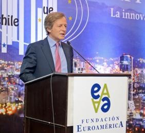 Adolfo Tamames durante su intervención