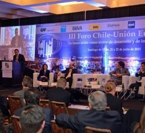 Claudio Muñoz durante su intervención