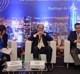 Eleonora Rabinovich, Claudio Muñoz y Gonzalo Rivas