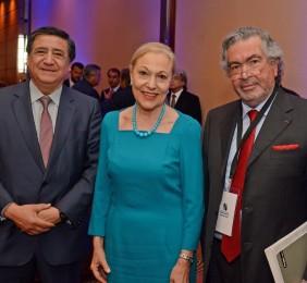 José Aravena,Benita Ferrero-Waldner,Vicente Caruz