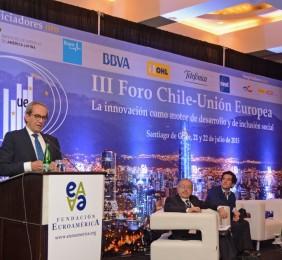 José Manuel González-Páramo Durante su intervención